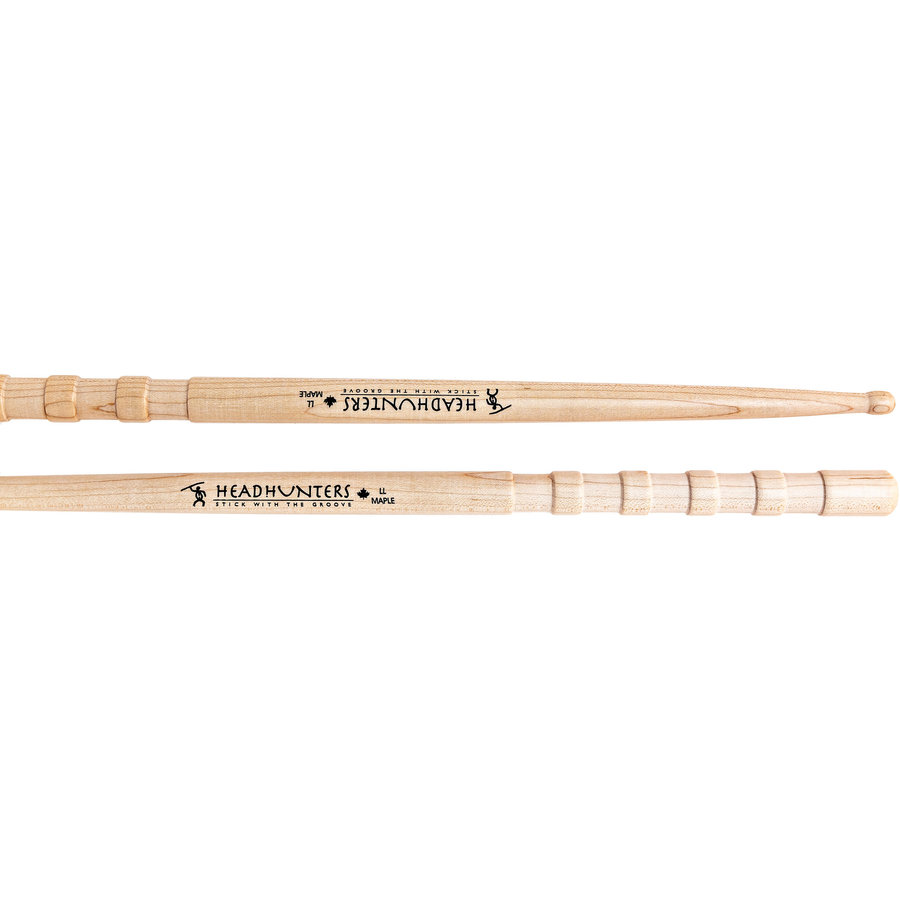 View larger image of HeadHunters Maple Grooves LL Drumsticks
