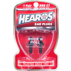 Hearos Rock 'N Roll Earplugs - 1 Pair