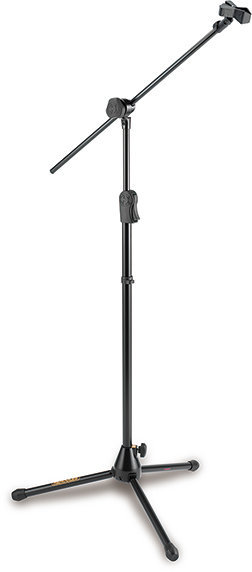 View larger image of Hercules EZ Clutch Tripod Microphone Stand with 2-In-1 Hideaway Boom