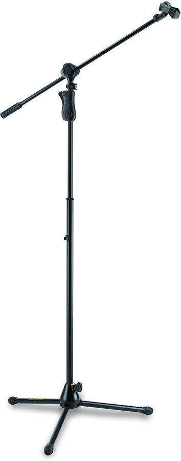 View larger image of Hercules EZ Grip Tripod Microphone Stand with 2-In-1 Boom and Mic Clip