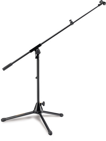 View larger image of Hercules Low Profile Tripod Microphone Stand with Boom and Mic Clip