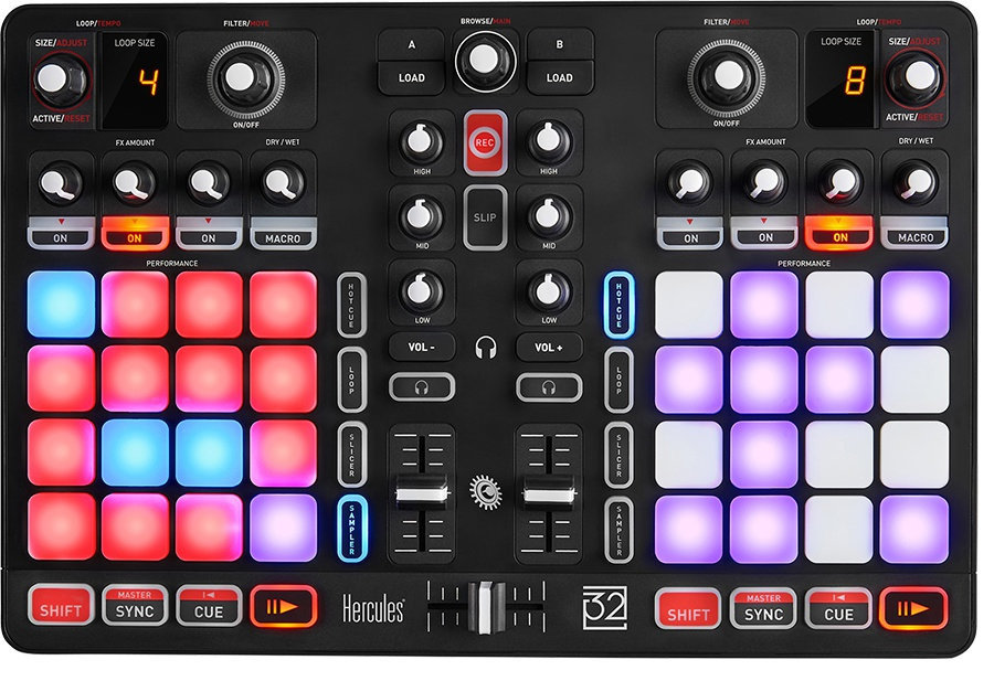 View larger image of Hercules P32 DJ Controller