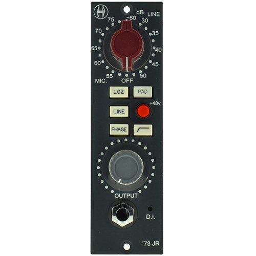 View larger image of Heritage Audio HA73JR Single 500 Series Microphone Preamp