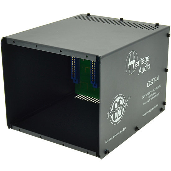 View larger image of Heritage Audio OST-10 500 Series Rack Enclosure