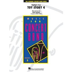 Highlights From Toy Story 4 - Score & Parts, Grade 3