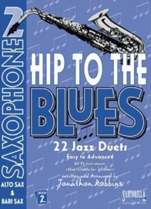 View larger image of Hip To The Blues 2 - Jazz Duets for Alto Sax w/CD