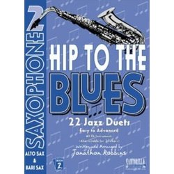 Hip To The Blues 2 - Jazz Duets for Alto Sax w/CD
