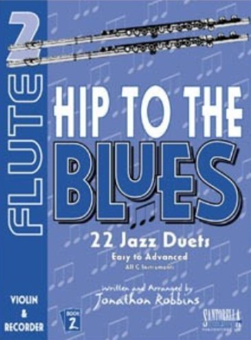 View larger image of Hip To The Blues 2 - Jazz Duets for Flute w/CD