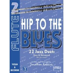 Hip To The Blues 2 - Jazz Duets for Flute w/CD