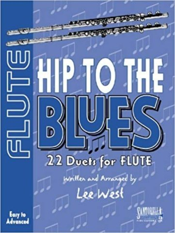 View larger image of Hip To The Blues - Jazz Duets for Flute w/CD
