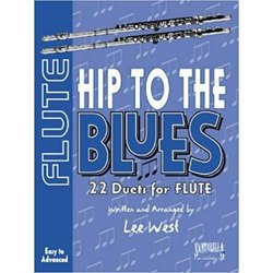 Hip To The Blues - Jazz Duets for Flute w/CD