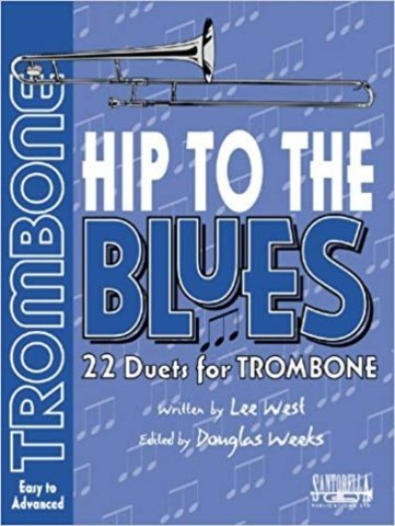 View larger image of Hip To The Blues - Jazz Duets for Trombone w/CD