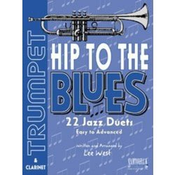 Hip To The Blues - Jazz Duets for Trumpet w/CD