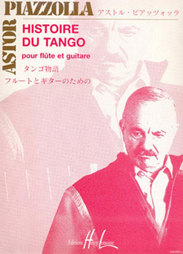 View larger image of Histoire Du Tango, (Piazzolla) - (Flute/Guitar)