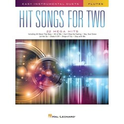 Hit Songs for Two - Flutes