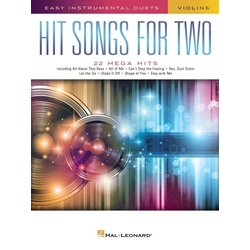 Hit Songs for Two - Violins