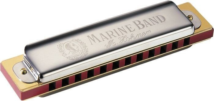 View larger image of Hohner 364 Marine Band Diatonic Harmonica - Key D