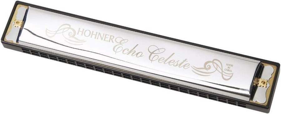 View larger image of Hohner 455A Echo Celeste Harmonica - Key A
