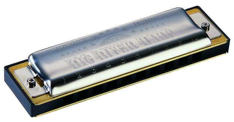 View larger image of Hohner Big River Diatonic Harmonica - Key Db
