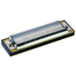 Hohner Big River Diatonic Harmonica - Key Eb