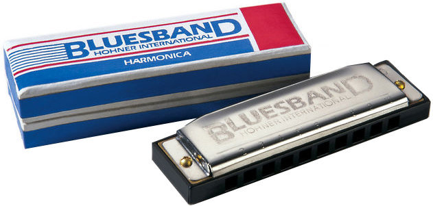 View larger image of Hohner Blues Band Harmonica - Diatonic C