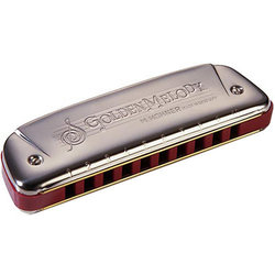 Hohner Golden Melody Diatonic Harmonica - Key Ab