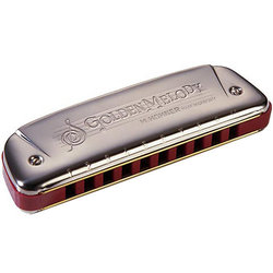 Hohner Golden Melody Diatonic Harmonica - Key C
