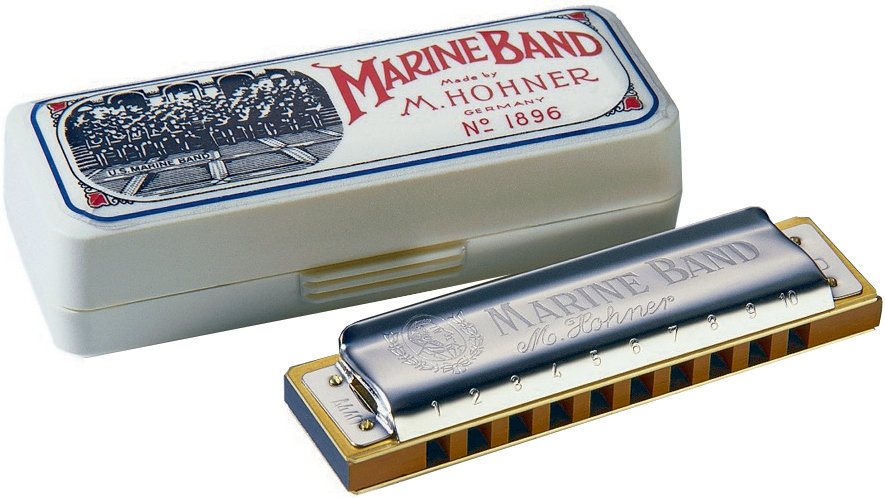 View larger image of Hohner Marine Band 1896 Classic Harmonica - Key A