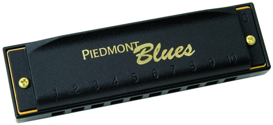 View larger image of Hohner Piedmont Blues Harmonica Set, Keys G, A, Bb, C, D, E, and F