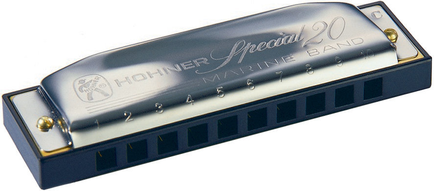 View larger image of Hohner Special 20 Classic Harmonica - Key F#