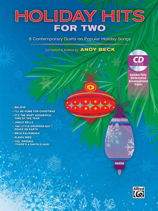 View larger image of Holiday Hits for Two Bk/CD (Vocal Duet)