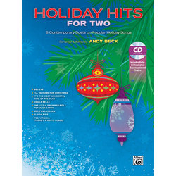 Holiday Hits for Two Bk/CD (Vocal Duet)