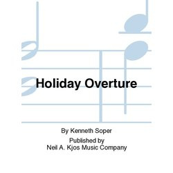 Holiday Overture - Score & Parts, Grade 4.5