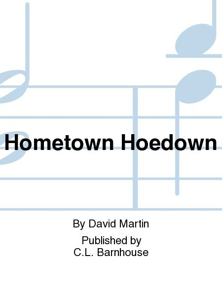 View larger image of Hometown Hoedown - Score & Parts, Grade 1.5