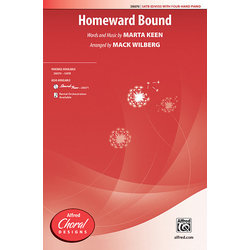 Homeward Bound,SATB Parts