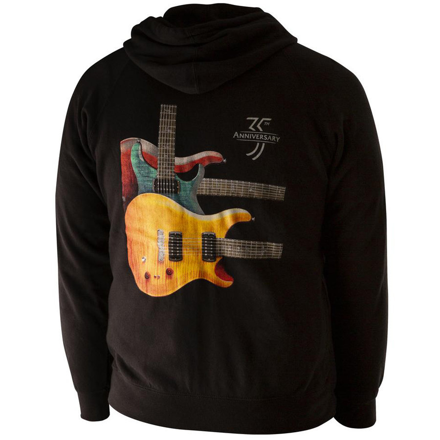 View larger image of PRS Paul's Three Guitar Throwback Hoodie - XXL