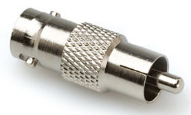 View larger image of Hosa 75-ohm Adaptor - BNC to RCA