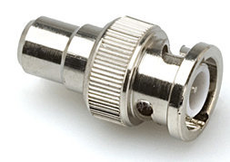 View larger image of Hosa 75-ohm Adaptor - RCA to BNC