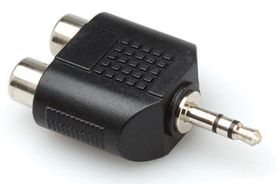 View larger image of Hosa Adaptor - Dual RCA to 3.5mm TRS