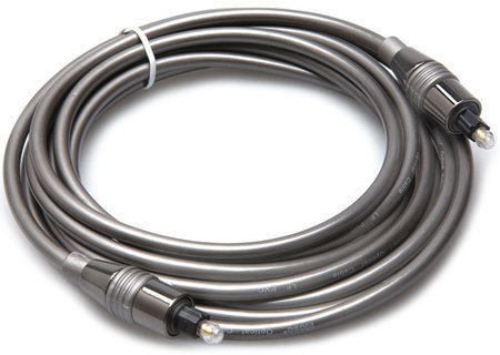 View larger image of Hosa Pro Fiber Optic Cable - Toslink to Toslink, 3'