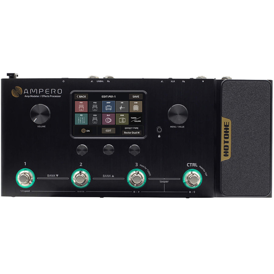 View larger image of Hotone MP-100 Ampero Amp Modeler/Effects Pedal