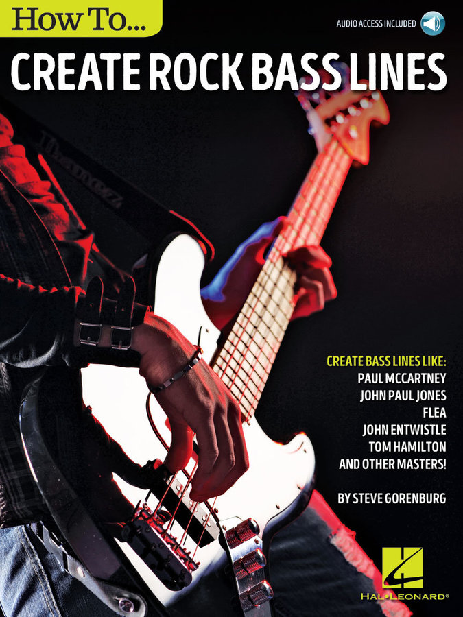 View larger image of How to Create Rock Bass Lines w/Online Audio