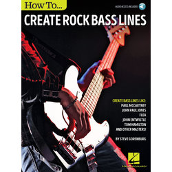 How to Create Rock Bass Lines w/Online Audio