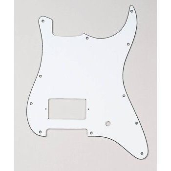 View larger image of Humbucker Pickguard for Stratocaster - White