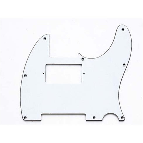 View larger image of Humbucking Pickguard for Telecaster - White