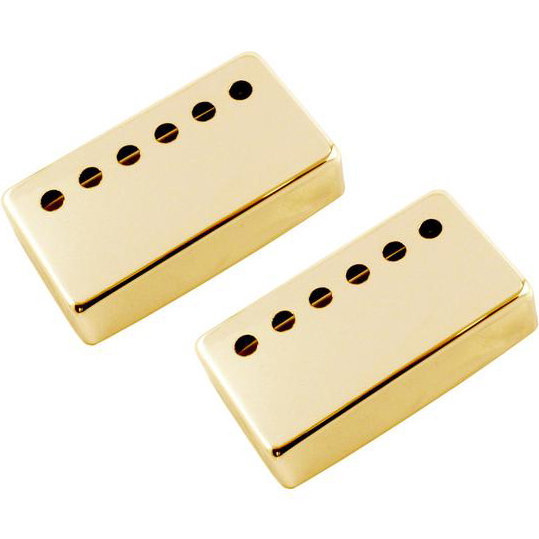 View larger image of Humbucking Pickup Cover Set - Gold, 53mm