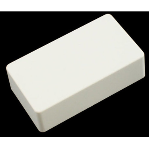 View larger image of Humbucking Pickup Covers - No Holes, White Plastic