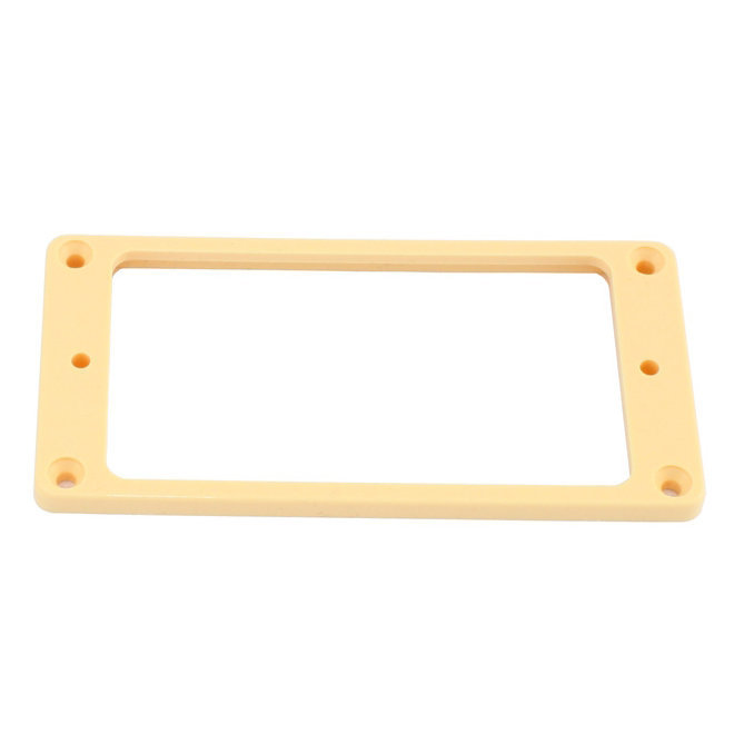 View larger image of Humbucking Pickup Rings Neck and Bridge - Cream, Curved