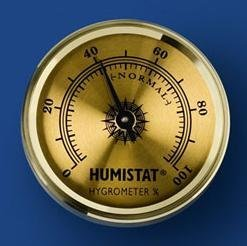 View larger image of Humistat Hygrometer - Gold