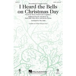I Heard the Bells On Christmas Day (Casting Crowns), SAB Parts